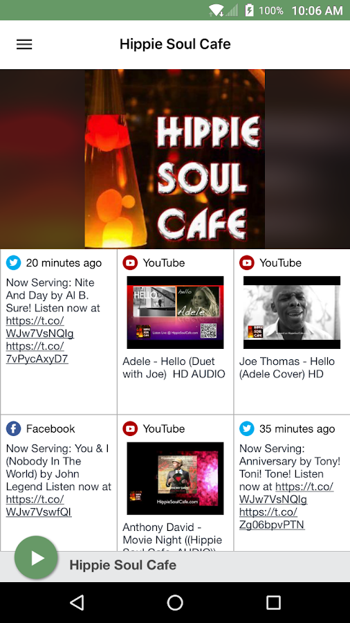 Hippie Soul Cafe- screenshot