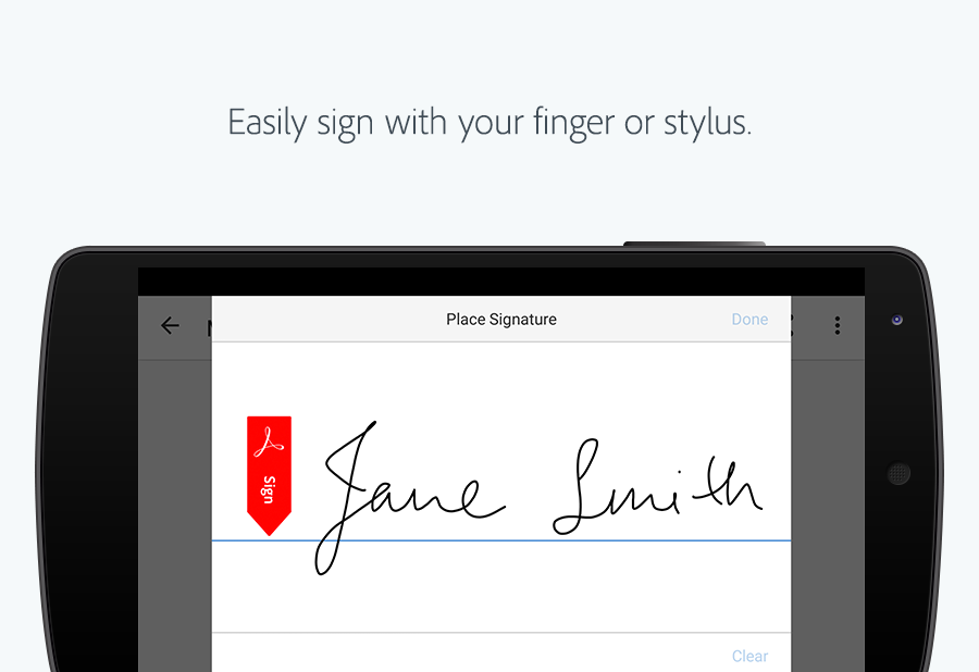 Adobe Fill & Sign- screenshot
