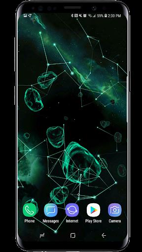 Space Particles 3D Live Wallpaper  screenshots 5