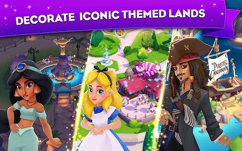 Disney Wonderful Worlds MOD APK 1.9.29 (Unlimited Stars/Gems) 2