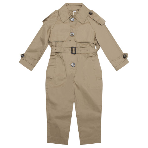 Primary image of Burberry Girls Trench Jumpsuit