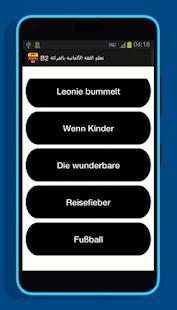 تعلم اللغة الألمانية بالقرائة والكتابة B2 - náhled