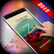 Letter Lock Screen 2018 - Gesture Lock Screen 2018