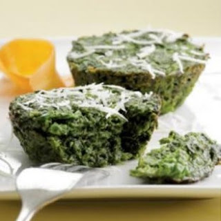 Gluten-Free Parmesan Spinach Cakes