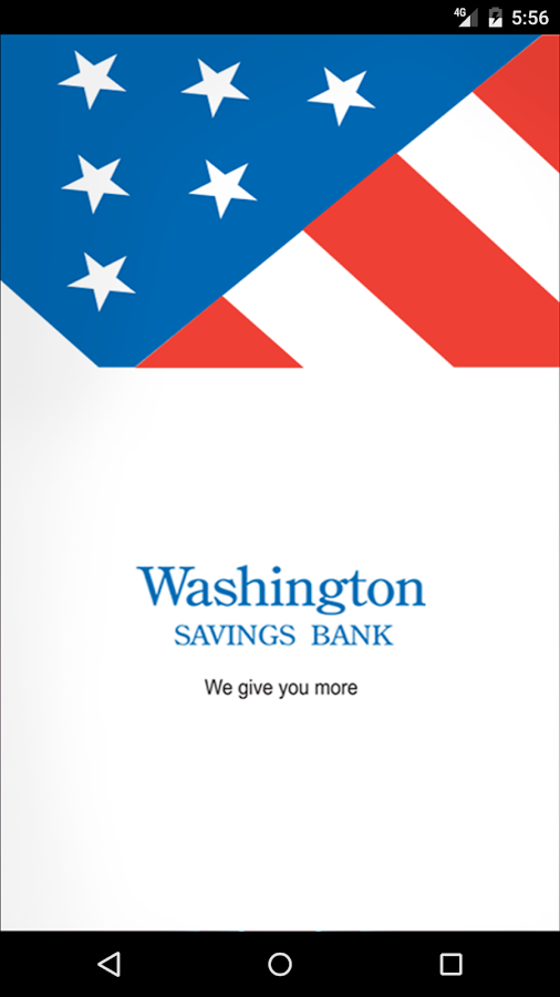 Washington Savings Bank- screenshot
