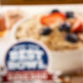 Spiced Sweet Potato + Brown Sugar Pecan Crumble Oatmeal Bowl
