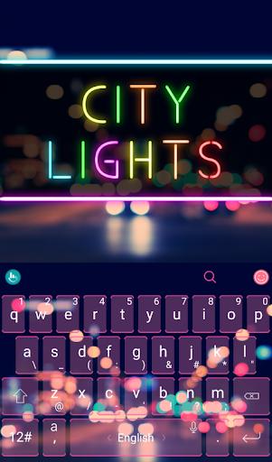 TouchPal City Light Theme