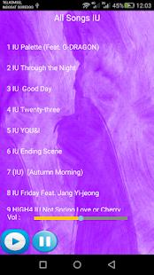 IU SONGS - náhled