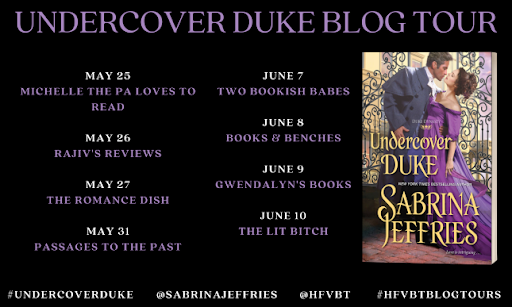 Excerpt & Giveaway: Undercover Duke by Sabrina Jeffries