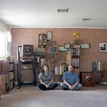 Photo: title: Keliy Anderson Staley + Matt Williams,Russellville, Arkansas date: 2013 relationship: friends, art, met via Hampshire College years known: 10-15
