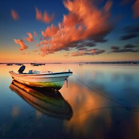 Recess by Hendri Suhandi - Landscapes Waterscapes ( shore, bali, bay, sunrise, beach )