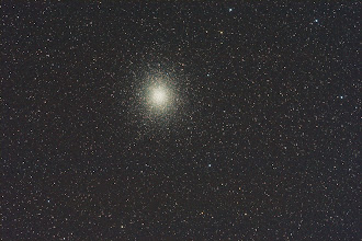 Photo: 05/02/2012 nights work was initially to capture Eros, but missed again. I have always wanted to capture this Globular cluster and quite happy with the result. This is a full field view from my TS80 @ 480mmFL F6 35 images stacked. Nice and sharp even with a manual focuser.