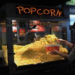 Fresh Popped Popcorn