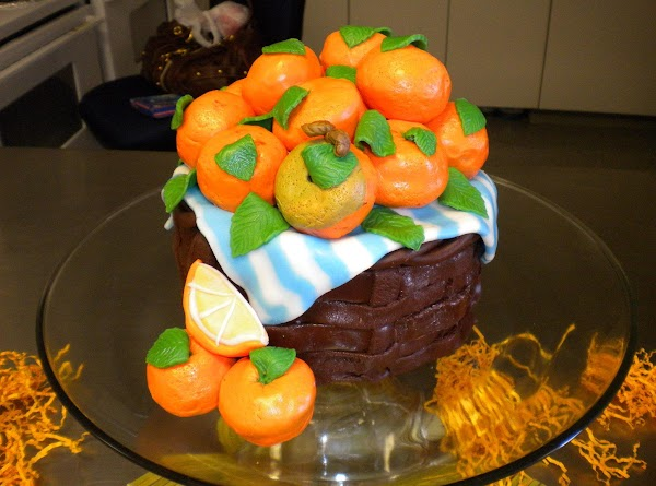 Orange Basket Citrus Cake Recipe