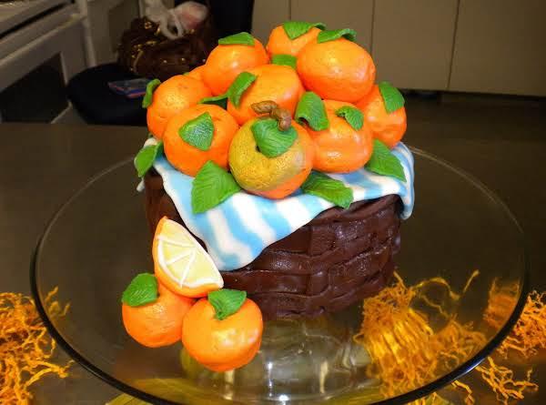 Orange Basket Citrus Cake Recipe