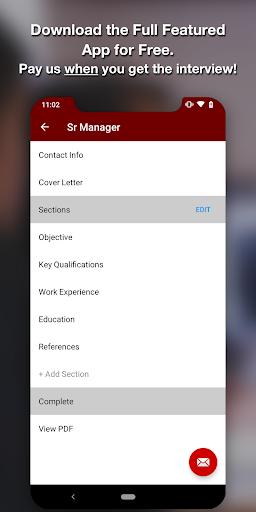 Download Resume Star Pdf Resume Builder App Free Cv Maker Free
