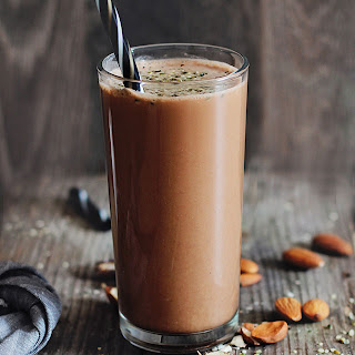 Chocolate Workout Recovery Protein Smoothie