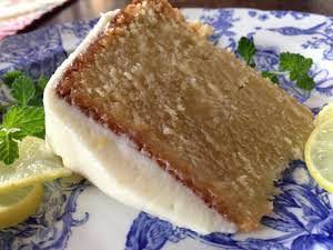"""Key Lime Pound Cake with Key Lime Cream Cheese Icing """"I loved..."""