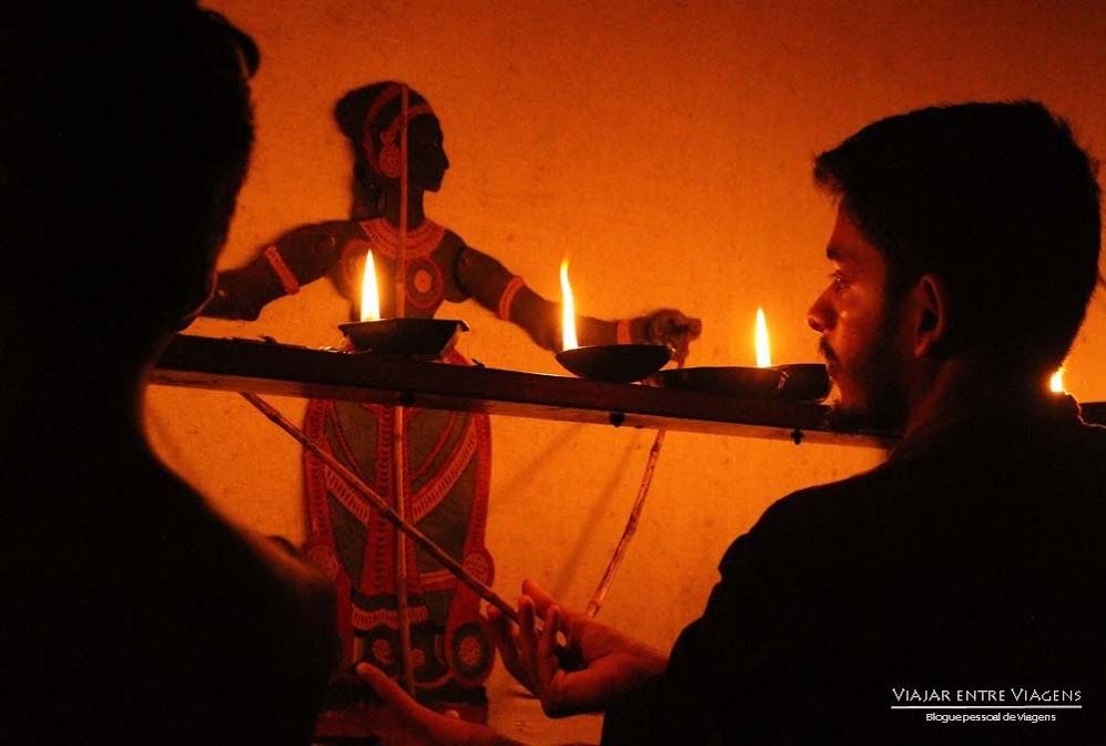 THOLPAVAKOOTHU, as marionetas em Querala | Índia
