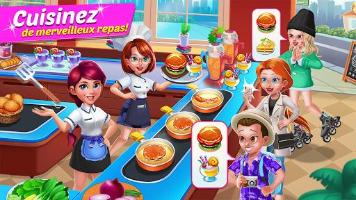 Code Triche Kitchen Diary : Jeux de cuisine & restaurant APK MOD (Astuce) screenshots 1