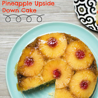 Simple Pineapple Upside Down Cake