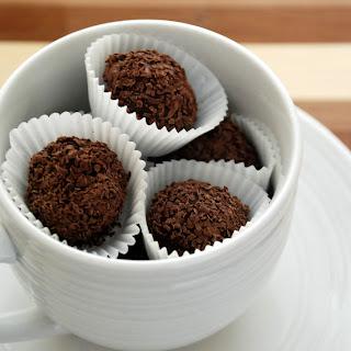 Lemon Bittersweet Chocolate Truffles
