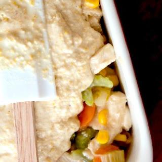 Creamy Chicken and Cornbread Casserole