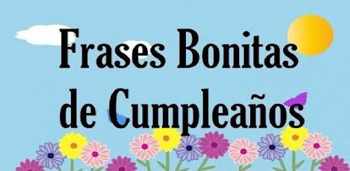 Frases Bonitas De Cumpleanos Apps On Google Play