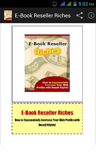 E-Book Reseller Riches