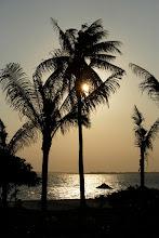 Photo: Sunset overlooking the main beach