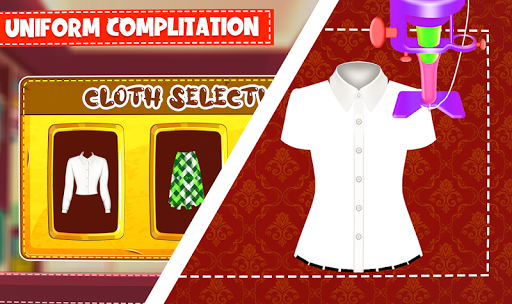 High School Uniform Tailor Games: Dress Maker Shop android2mod screenshots 16