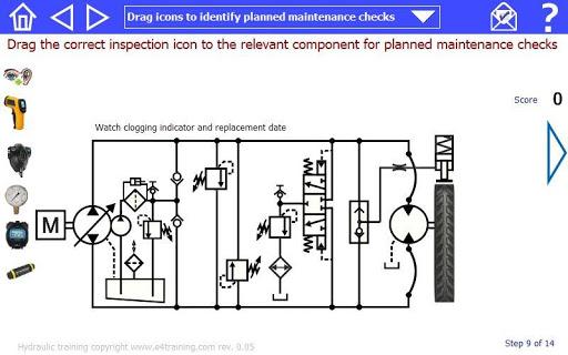 Mobile system hydraulic excavator training rev 1-00 screenshots 8