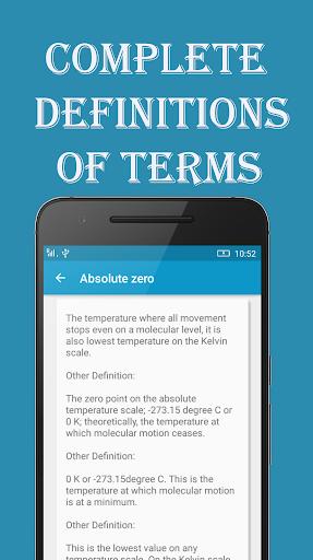 Chemistry Dictionary 1.0.6 screenshots 3