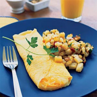 Folded Cheese Omelet