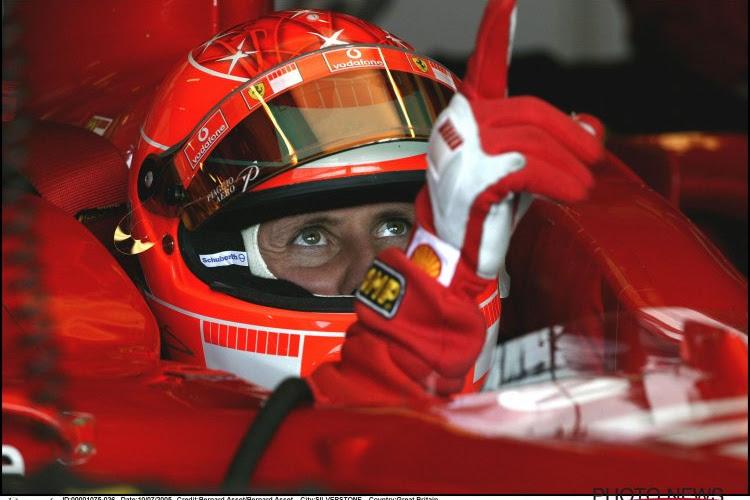 Liefhebbers kunnen bieden op bolide die Schumacher vijfde wereldtitel opleverde