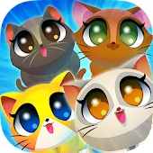 Cute Cats Match 4