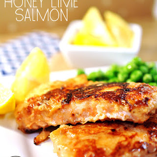 Honey Lime Crusted Salmon