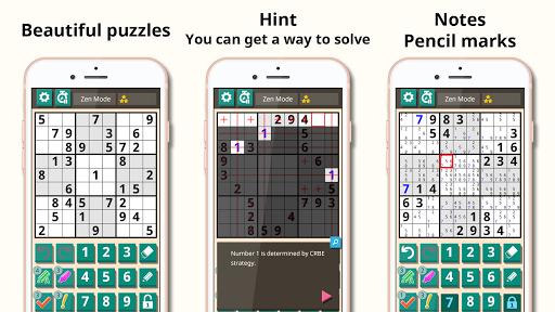 Sudoku classic 1.2.516 screenshots 2