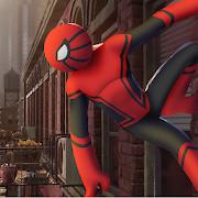 Spider Hero Stickman Rope Warrior- Crimes Man City
