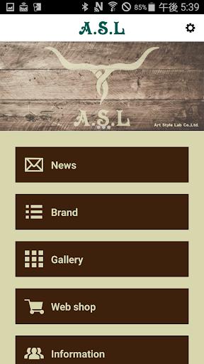 オリジナル雑貨&アクセサリー「 A.S.L 」