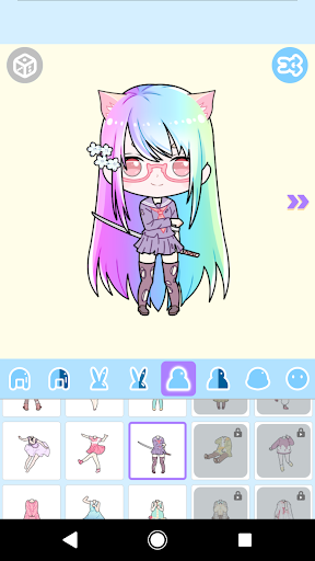 Cute Avatar Maker: Make Your Own Cute Avatar 2.0.2 Screenshots 8