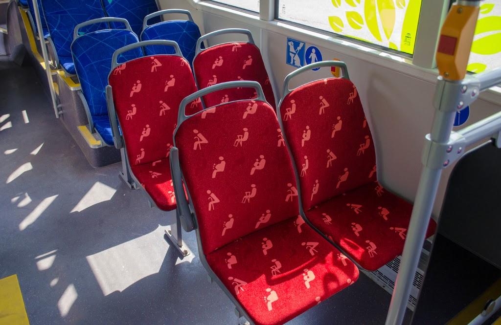 Салон. Места для особой категории пассажиров