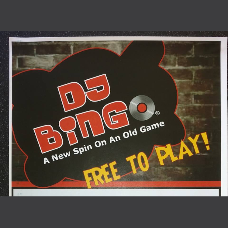 Logo for DJ Music Bingo