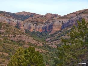 Photo: Montsor i el torrent de Vallcarga
