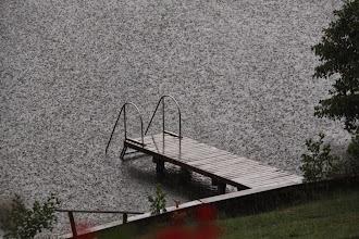 Photo: Ganz selten gibt es Regen