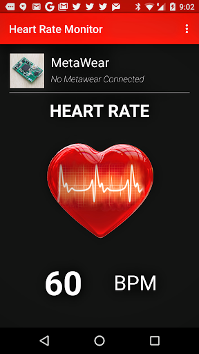 MetaWear Heart Rate Monitor