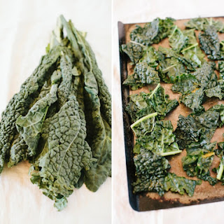 """Cheesy"" Vegan Kale Chips"