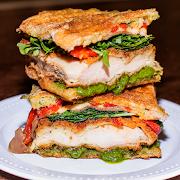 Chicken Prosciutto Pesto Sandwich
