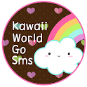 Kawaii World GO SMS icon