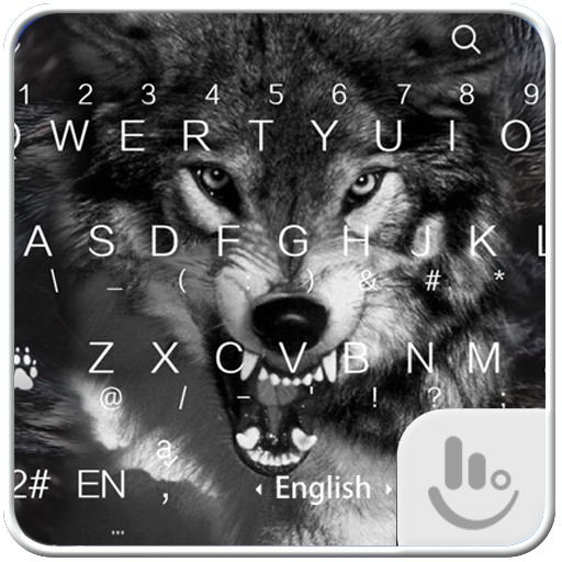 Wild Wolf Keyboard Theme